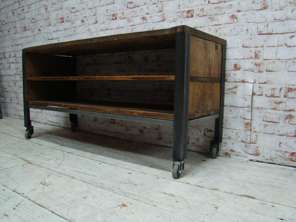 Tv Meubel Vintage.Industrial Tv Cupboard Itsthat