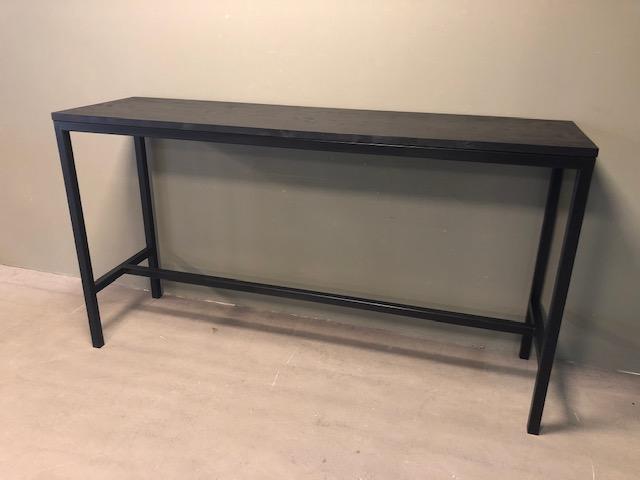 Sensational Bar Table Black Edition Machost Co Dining Chair Design Ideas Machostcouk